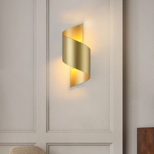 Gold Metal Wall Lamps Nordic Led Wall Light Home Living Room Decor Industrial Lamp Bedroom Wall Sconce Bathroom Mirror Lights