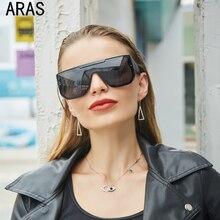 Oversized Sunglasses Men Vintage Brand Driving Sun Glasses  Women Flat Top Big Frame Sunglass Retro