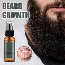 30ml Hair Beard Growth Spray Liquid Active Scalp Hair Regrowth Essencial Intensive Spray Hair Loss T