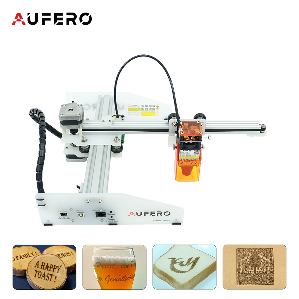 Wood Acrylic Laser Engraver Cutting Machine180x180mm Engraving Area Quick Assembly Design High Speed Laser Engraving Machine