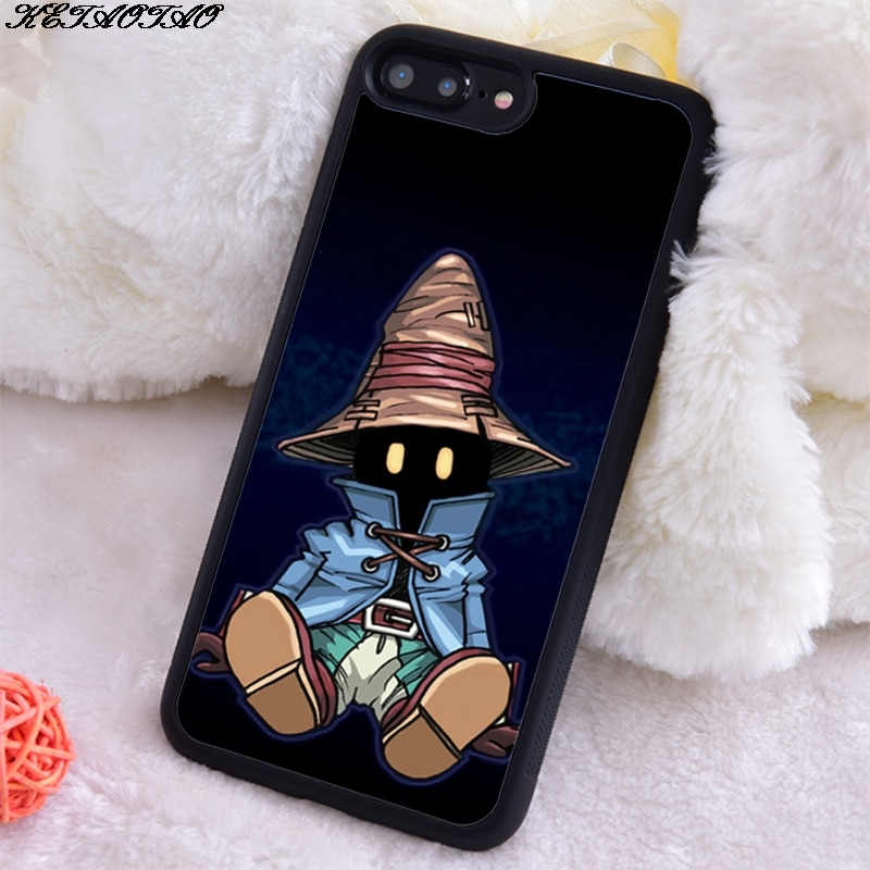 KETAOTAO Vivi Final Fantasy IX Soft Silicon Soft TPU Phone Case for Iphone 5S SE 6S 7 8 Plus X Xs Xr 11 Max