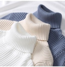 Col roulé cachemire femmes chandails et pulls automne Hiver à manches longues coupe mince Pull Femme Hiver Pull tricoté décontracté