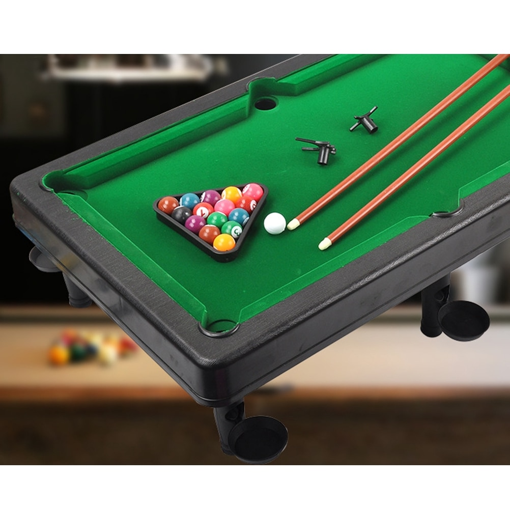 Small Tabletop Ball Billiards Home Billiard Game Sets Snooker & Tables Pool Table