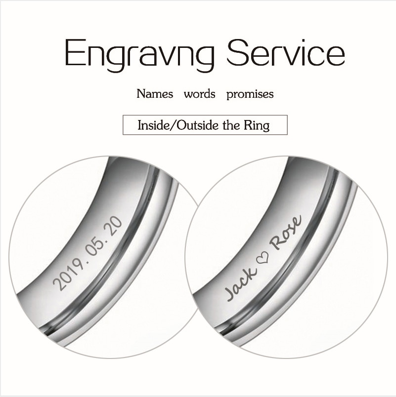 Плата за гравировку кольца, услуги лазерной гравировки на заказ, дополнительная стоимость для записи кольца, кольцо не включено