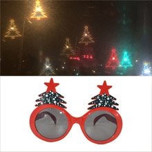 1PC Effects Glasses Watch The Lights Change to Christmas Tree Shape At Night Diffraction Glasses Wom
