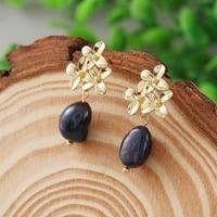 original design baroque freshwater pearl earrings drop earrings for women gift 8 9mm blackwhite pearl fine jewelry %d1%81%d0%b5%d1%80%d1%8c%d0%b3%d0%b8