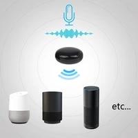 Mini equipement infrarouge universel intelligent de Tv a ca de telecommande vocale dir fonctionne avec lassistant a la maison dalexa Google