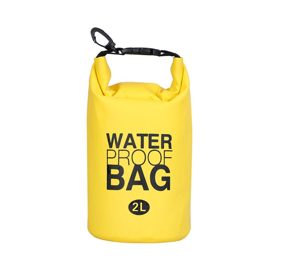 Waterproof Bag Fashion 2L Outdoor Sports Drifting Bag Waterproof Bucket Bag PVC Mesh Swimming Waterproof Bag naturehike nh outdoor waterproof bag moisture barrier bag orange black 2l