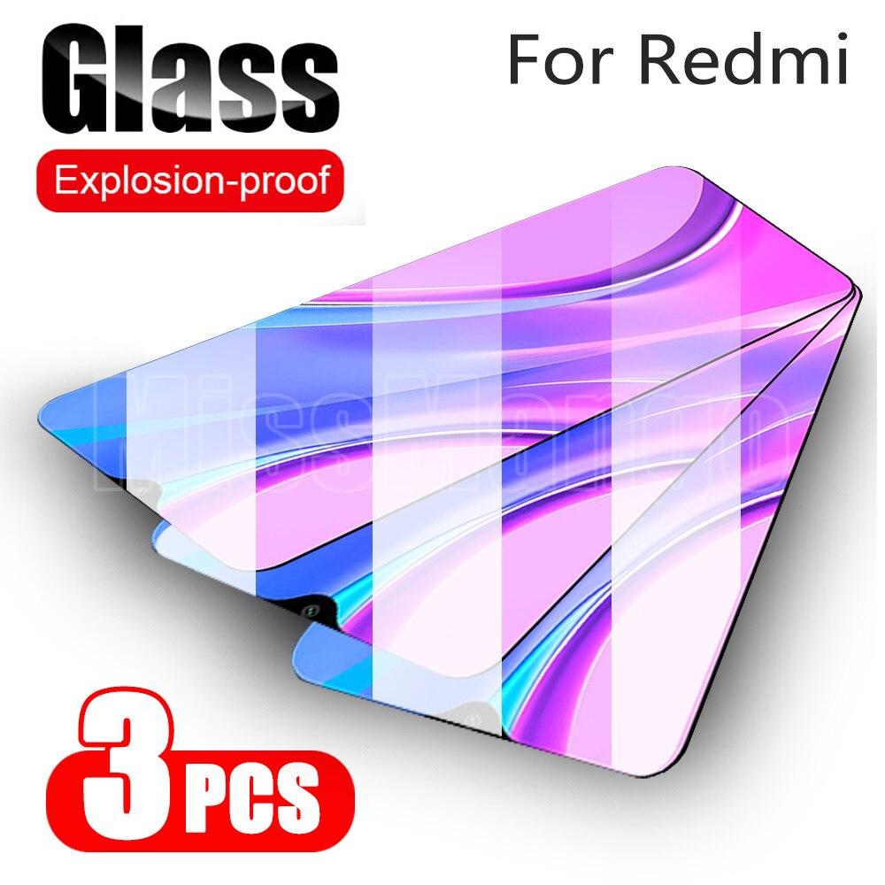 Protecteur décran 3 pièces pour Xiaomi Redmi 9 Redmi9 verre trempé pour Xiaomi Xiomi Redmi 9A 9C 9 A 9 C Film de protection en verre