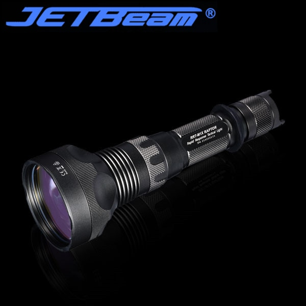 Jetbeam RRT-M1X flashlight 480 lumen Tiny   transparency lens Long Throw Beam 2300 meter with 21700 Battery enlarge