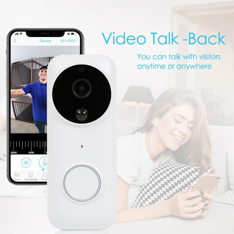 Night Vision 1080P Full HD WIFI Security Chime Doorbell Two Way Talk PIR Motion Detection Door Bell Camera enlarge