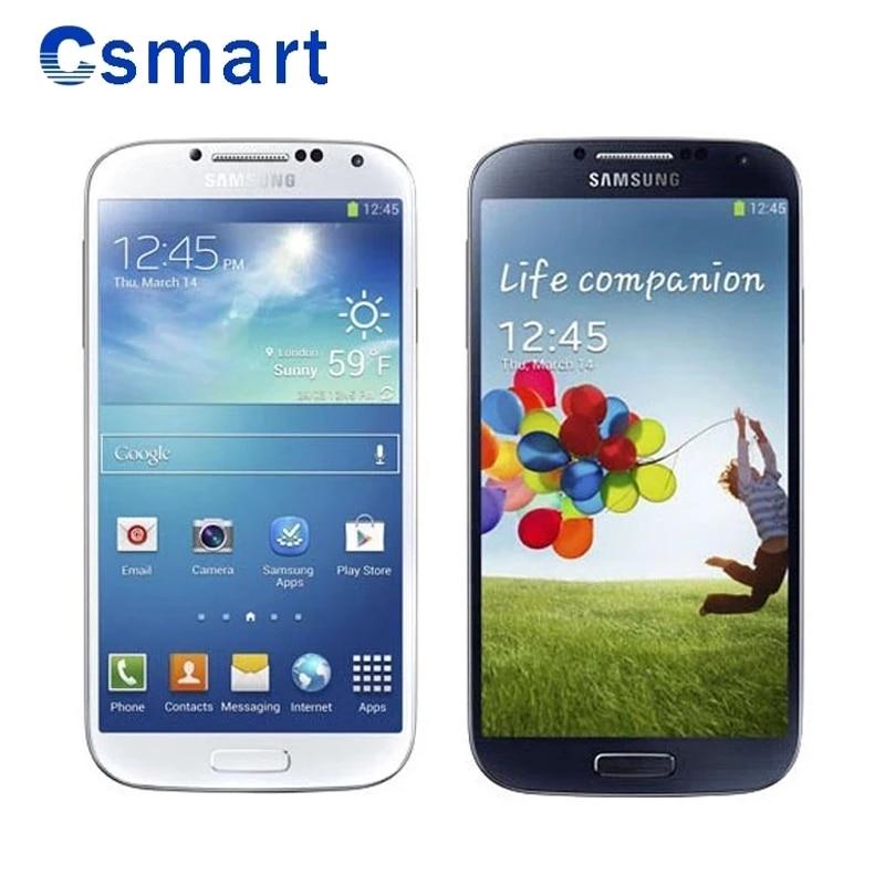 Reacondicionado desbloqueado Samsung Galaxy S4 i9500/9505 teléfono celular Octa 2GB de RAM...