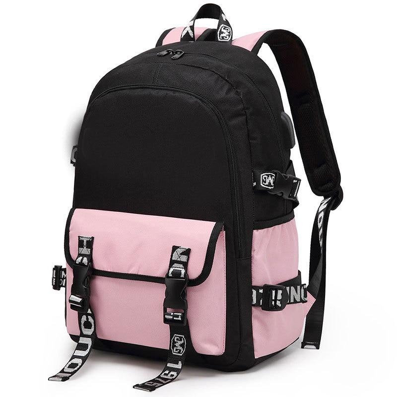2021 New Waterproof Nylon Kids Backpack Girls For Middle School Student Travel Backpacks Vintage Children Schoolbags Women Bag