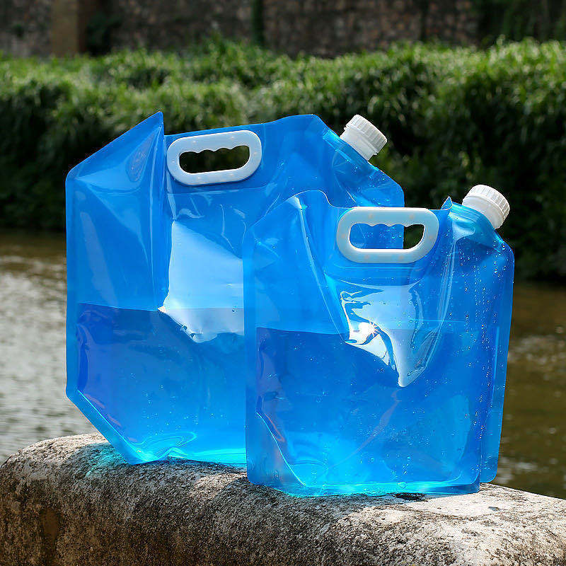 Outdoor Water Bags Foldable portable Drinking Camp Cooking Picnic BBQ Water Container Bag Carrier Ca