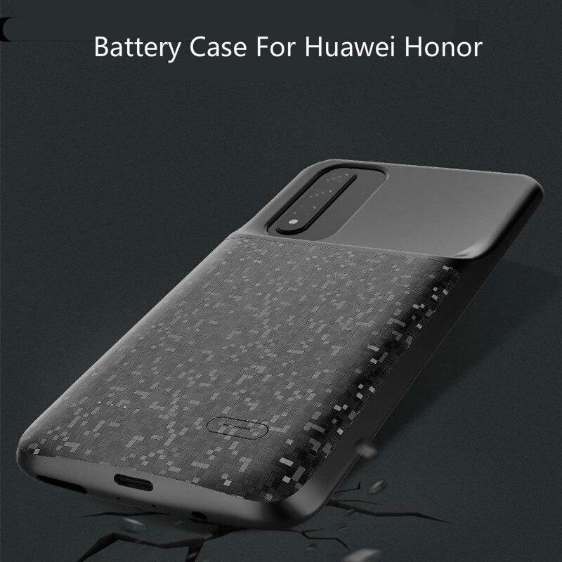 Для Huawei Honor Series 5500 мАч зарядное устройство чехол для Huawei Honor 20 20 Pro 8X 10 Lite 9X 8 тонкий ударопрочный внешний аккумулятор чехлы