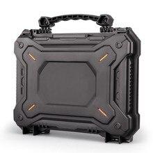 Pistolet tactique pistolet caméra étui de protection personnalise mousse pistolet boîte de rangement étanche coquille dure sac à outils accessoires de chasse