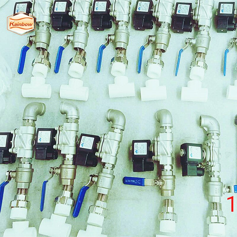 Low Price 220v Solenoid Valves Normally Closed Plastic Pvc Irrigation Water Solenoid Valve enlarge