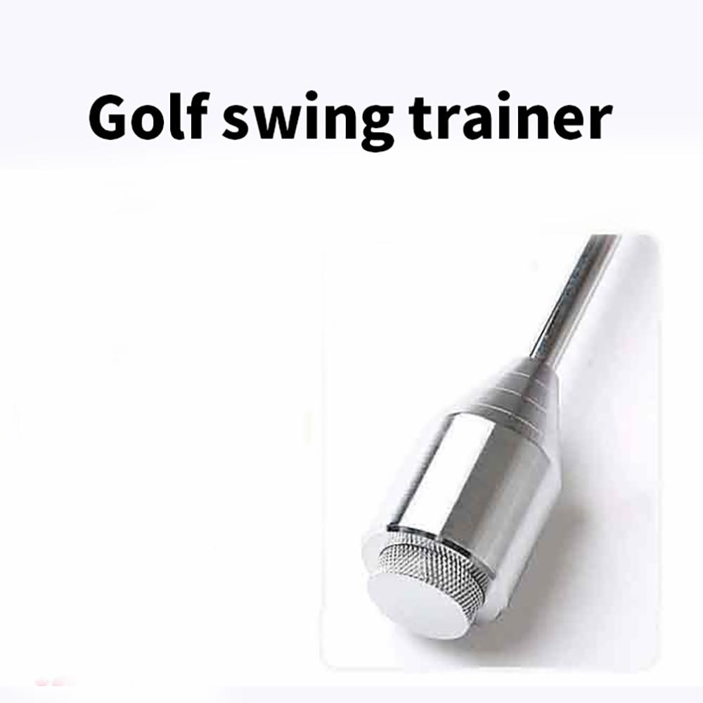 Golf Correct Posture Bending Shaft Auxiliary Practice Equipment Swing Training Stick Beginner Practice Supplies Correct