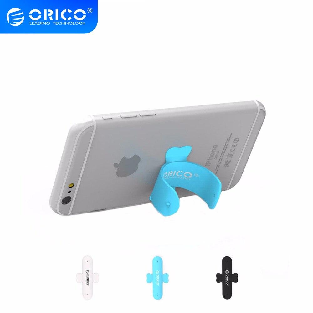 ORICO SU1 uchwyt na telefon w kształcie litery U uniwersalna przenośna tylna naklejka na wszystkie smartfony Tablet czarny/niebieski/biały