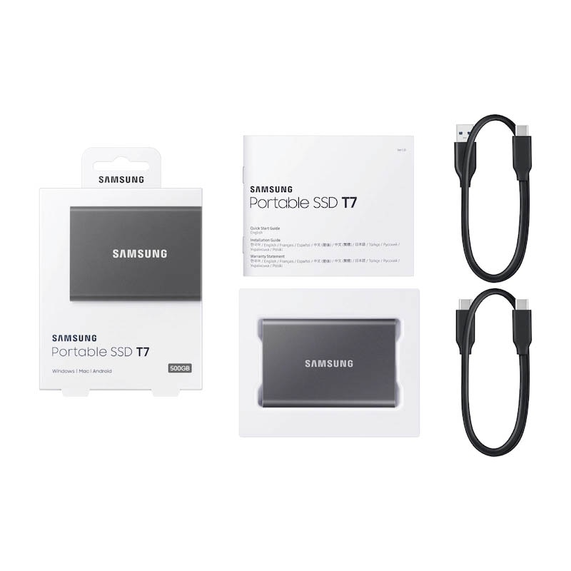 Samsung SSD External HD Ssd 1TB Portable SSD T5 Hard Drives 500GB Type-C USB 3.2 Gen2 External Solid State Drives 2TB For Laptop enlarge