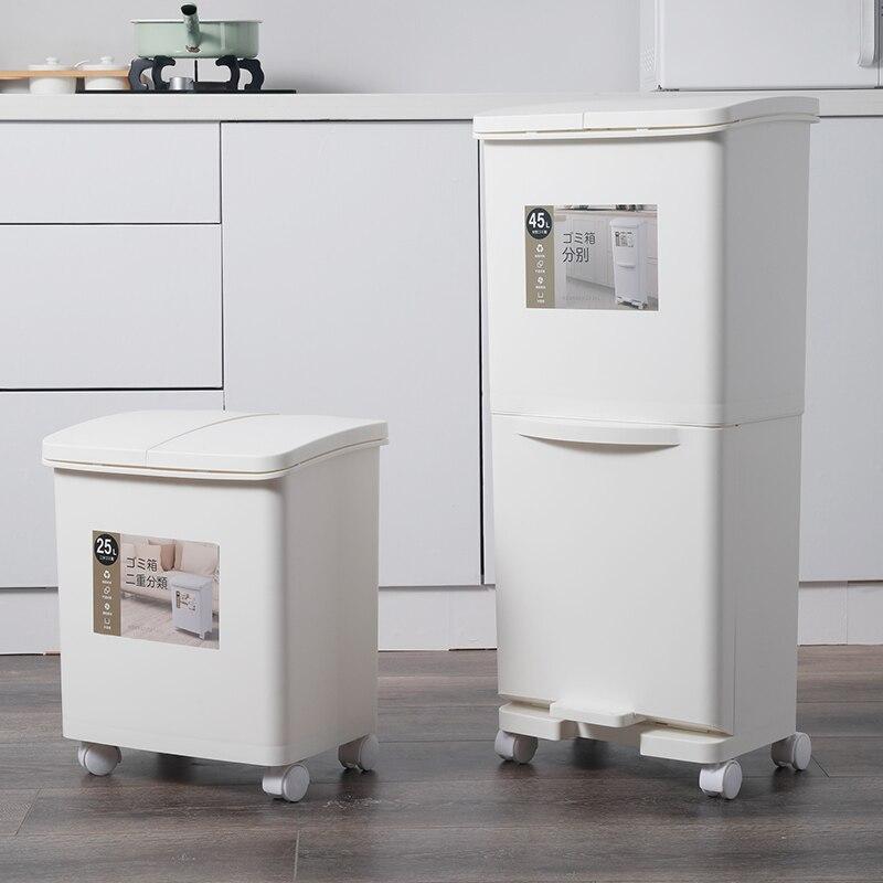 Dispensador de aseo de reciclaje, cubo de basura, cubo de basura Plegable,...