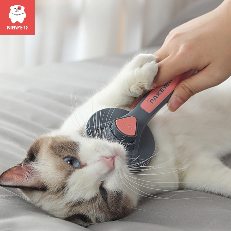 Kimpets Cat Comb Dog Comb Cat Hair Comb Pet Dog Hair Special Needle Comb Cat Hair Cleaner Cleaning and Beauty Products