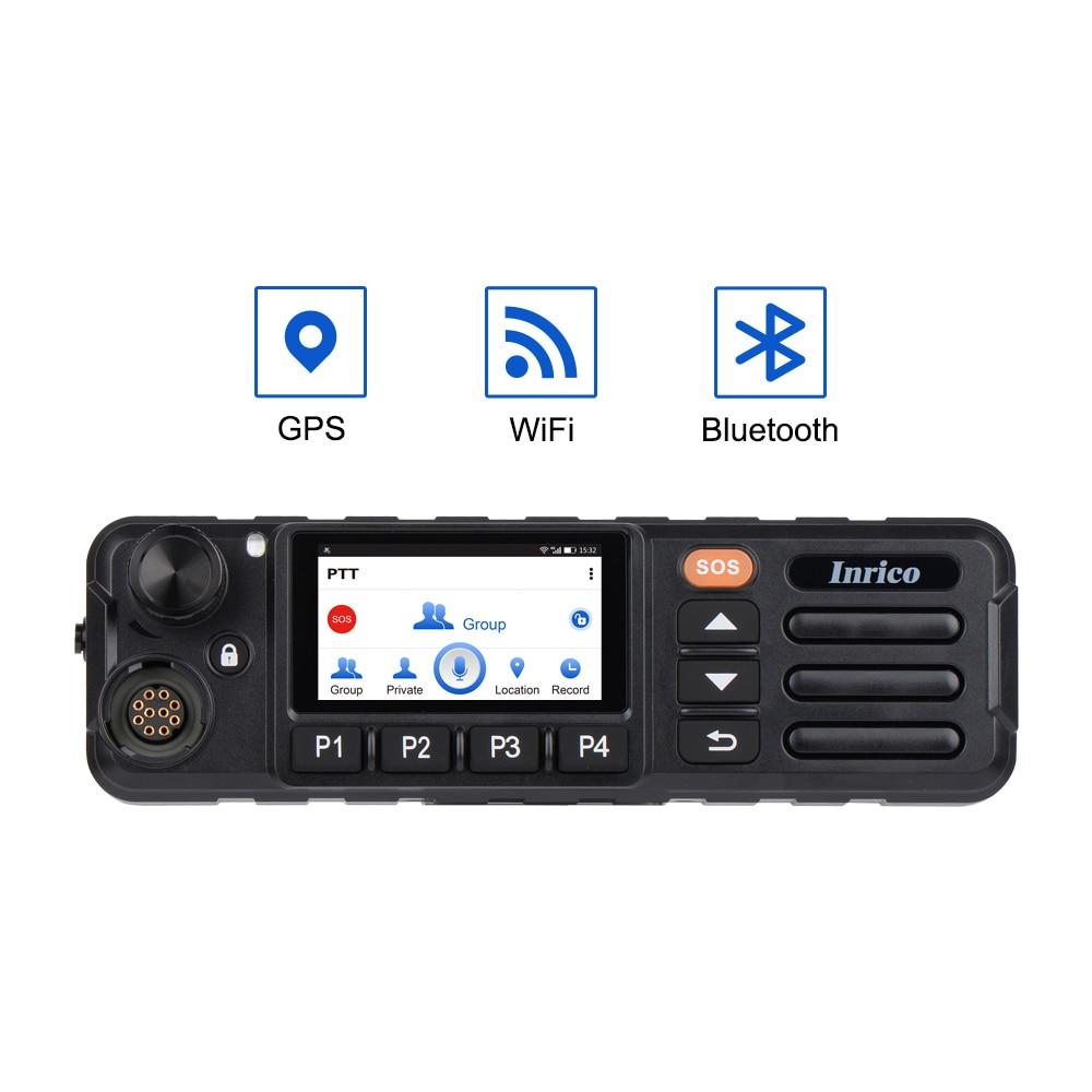 Автомобильная рация Inrico, радиоприемник, сенсорный экран, TM-7plus, SOS, PTT