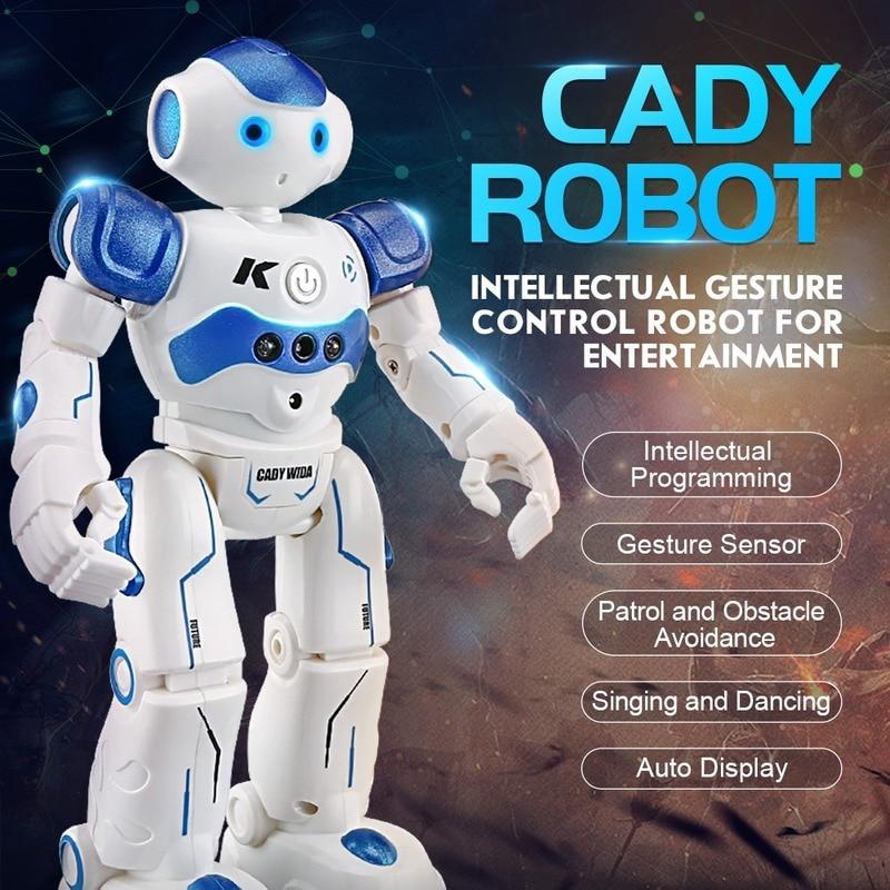 R2 RC روبوت الأشعة تحت الحمراء السيطرة إيماءة كادي ويدا الذكية كروز Oyuncak الروبوتات الرقص روبو الاطفال لعب للأطفال هدية