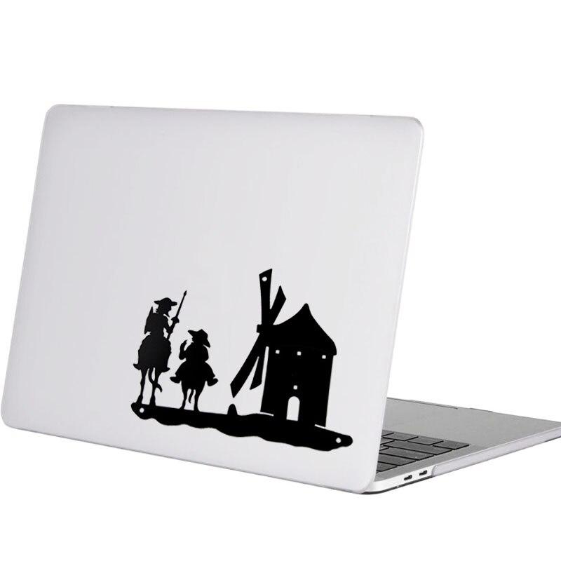 Etiqueta do Portátil para Macbook Espanha Quixote Sancho Decal Pro 16 Retina ar 11 12 13 14 15 Polegada Mac Livro Pele Notebook Adesivo Don