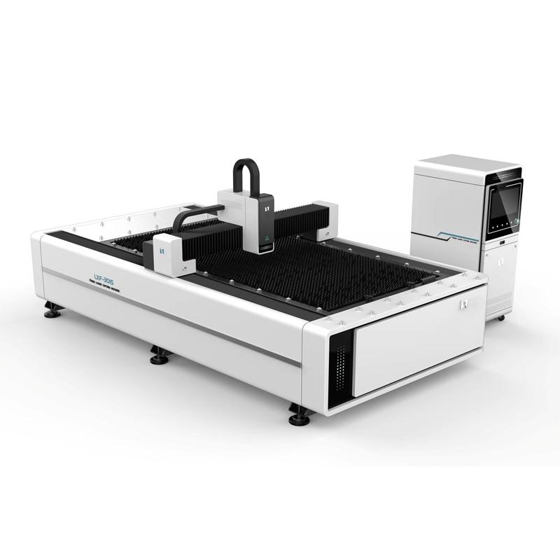 Pórtico de acero de manganeso de alta calidad, máquina de corte de metal de fibra láser móvil para tubos y placas