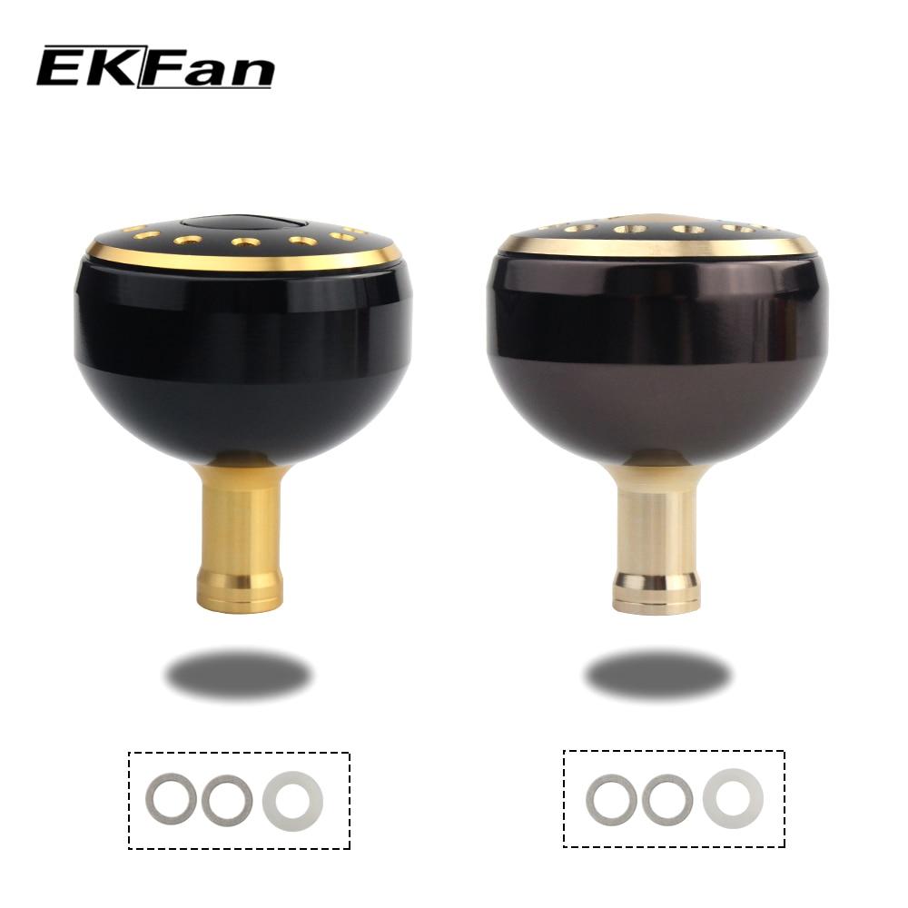 EKFan Neue Legierung Alluminum Angeln Griff Knob Mit Durchmesser 32mm/35mm/38mm Für Baitcasting Angeln reel Rocker Angeln Zubehör