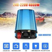 3000W/4000W Car Solar Power Inverter DC 12/24V to AC 220V Modified Sine Wave Converter GK99