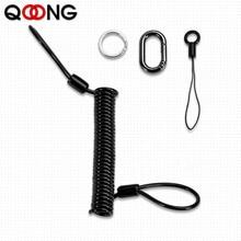 Выдвижной металлический брелок для ключей, длина 30-100 см