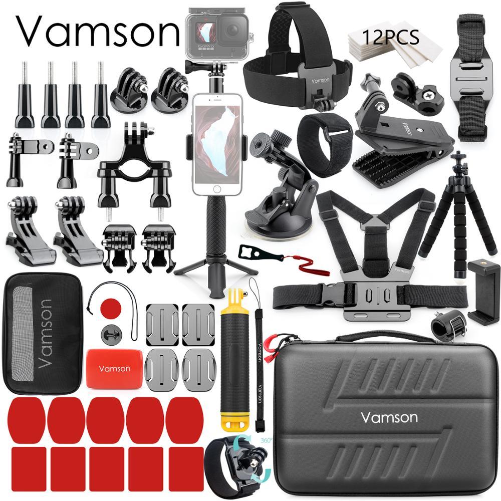 Vamson-conjunto de accesorios para Gopro hero 9, 8, 7, 6, 5, kit...