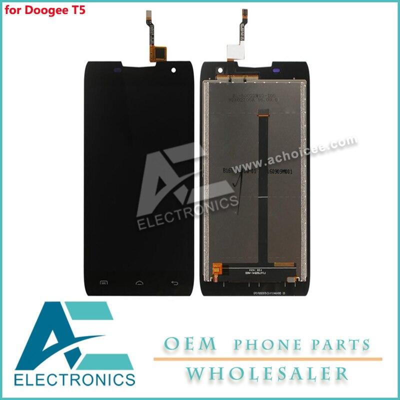 Pantalla táctil de cristal táctil LCD para Doogee T5