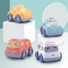 Kinder Frühen Kindheit Pädagogisches Ziehen Auto Spielzeug Auto Paket Junge Drop-beständig Trägheit Auto Baby Kleine Auto 1-3 jahre Alt