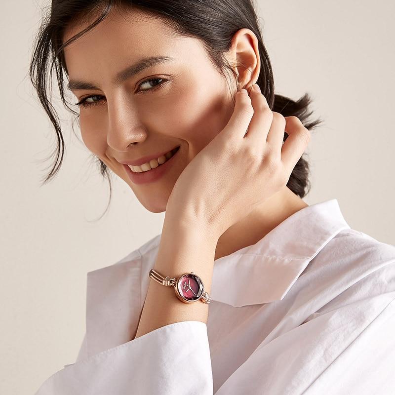 Women Quartz Watches Top Brands Gift Best Seller Fashion Dropshipping Luxury Designer Brass Jewelry Bracelet Band Wristwatches enlarge