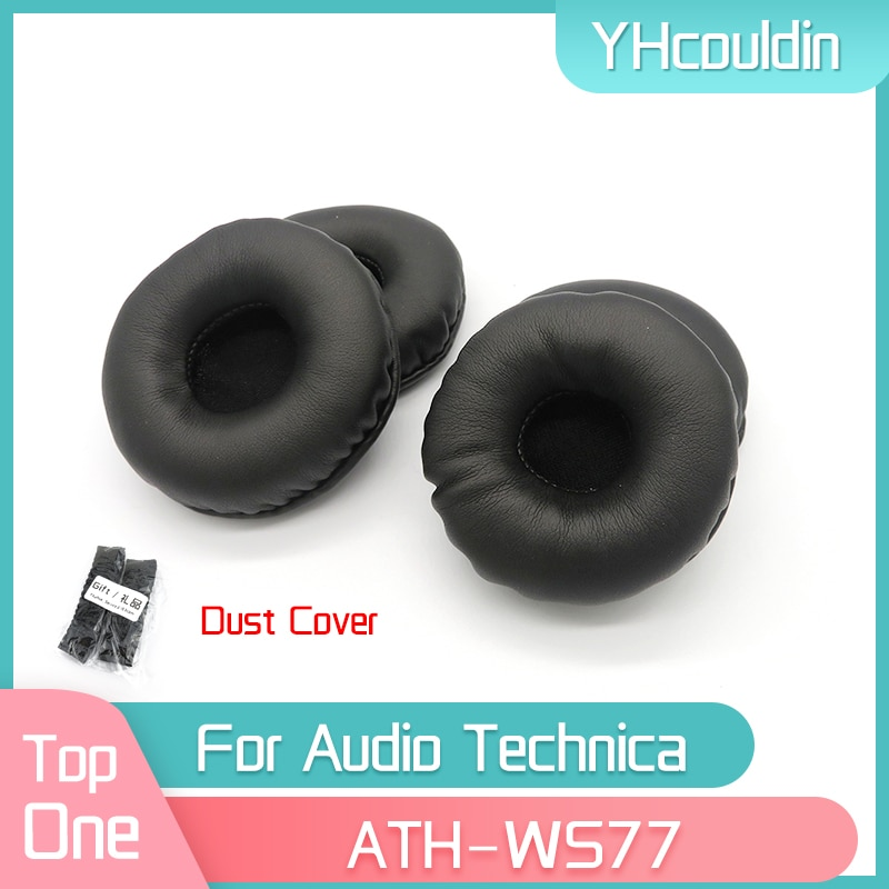 YHcouldin Earpads For Audio Technica ATH-WS77 ATH WS77 Headphone Replacement Pads Headset Ear Cushions yhcouldin ear pads for audio technica ath ws550 ath ws550is headphone replacement earpads ear cushions