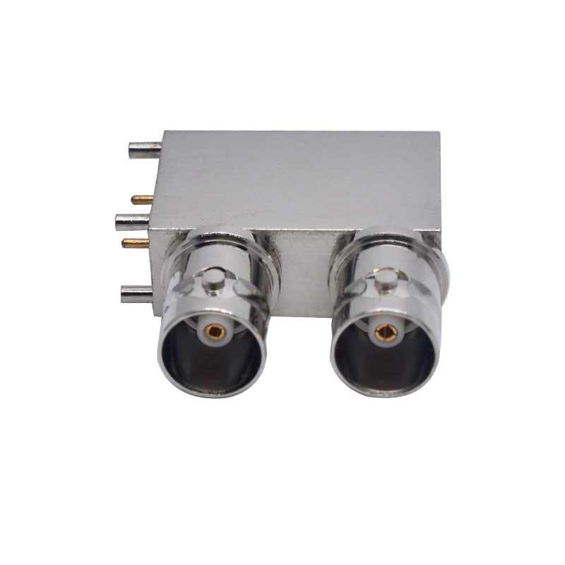 SDI Double Layer BNC Welding USB Q9 Welding Plate Female Connector Dual BNC Monitoring Camera Equipment Connector