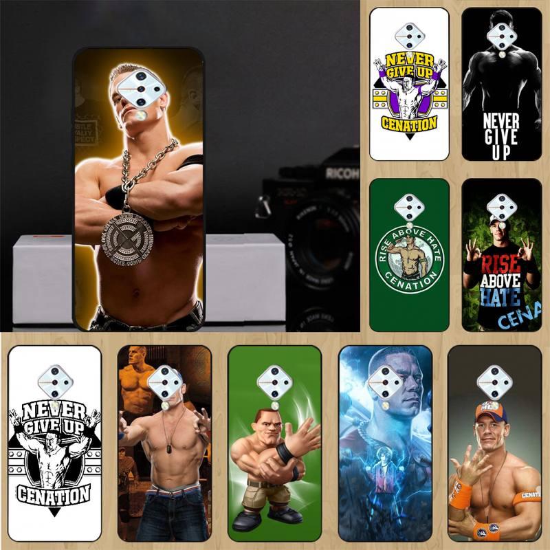 John Cena 0 Preto Suave Silicone Telefone Caso Para Vivo X9 20 9s Plus Y97 83 75 71 69 V15 V17 V5 S