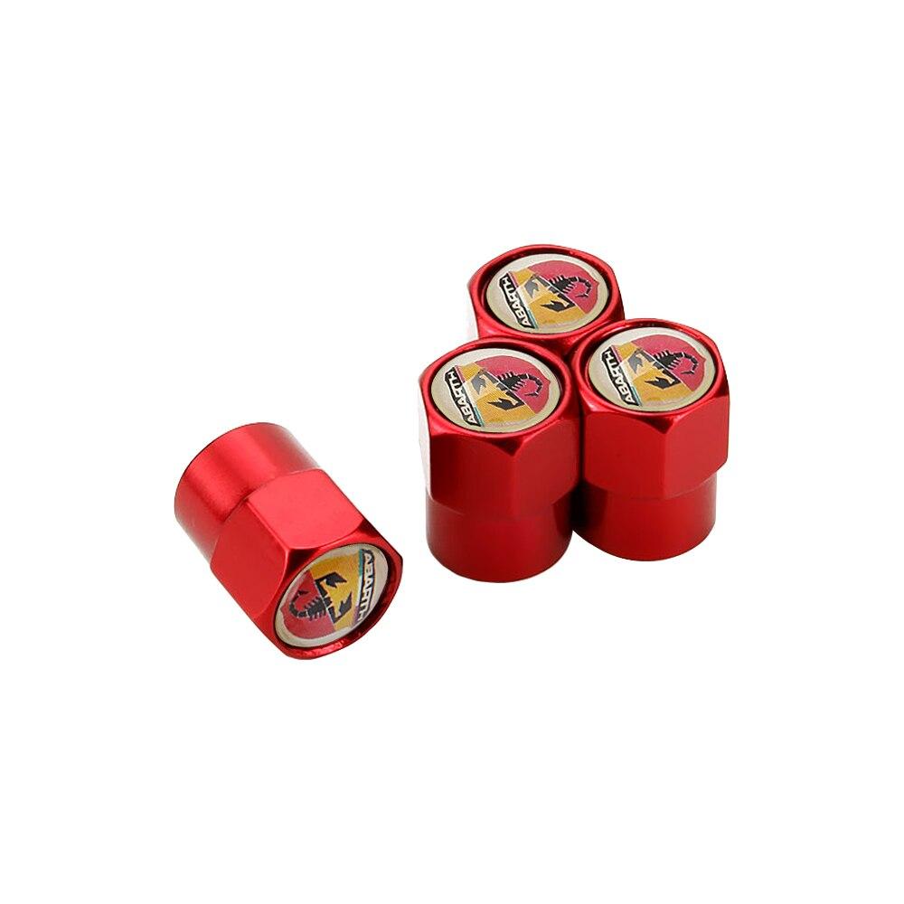Casquillos de válvula del neumático de aire para Fiat Abarth Panda 500...