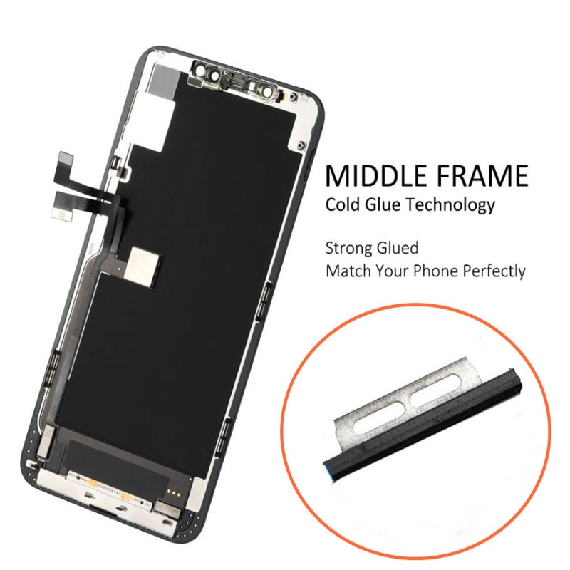 YWEWBJH AAA+++ OLED For iPhone X XS 11Pro LCD Screen Replacement For iPhone  11Pro Display With 3D Touch Assembly True Tone enlarge