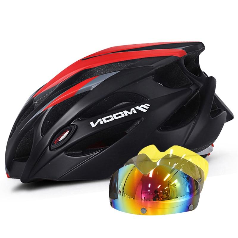 MOON-gafas magnéticas para Ciclismo para hombre y mujer, Casco para bicicleta de...