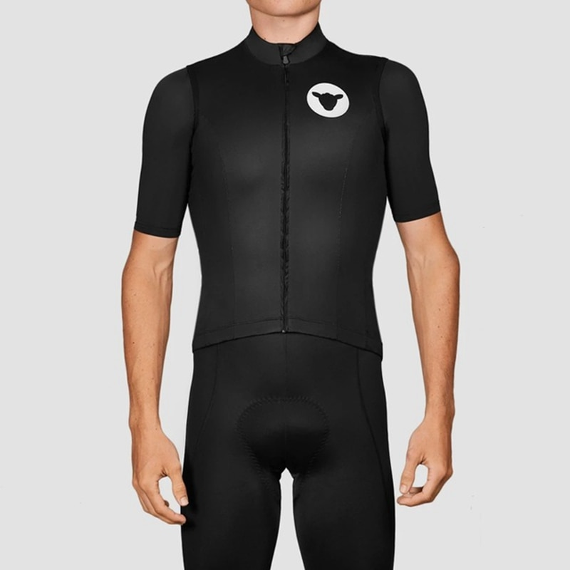 Windproof vest cycling vest Men's summer cycling clothing riding vest Windproof and waterproof sunscreen European team training