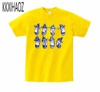 veggietales larry the cucumber short sleeve t shirt 2019 newest summer tshirt boysgirls tshirts print baby tshirt mj