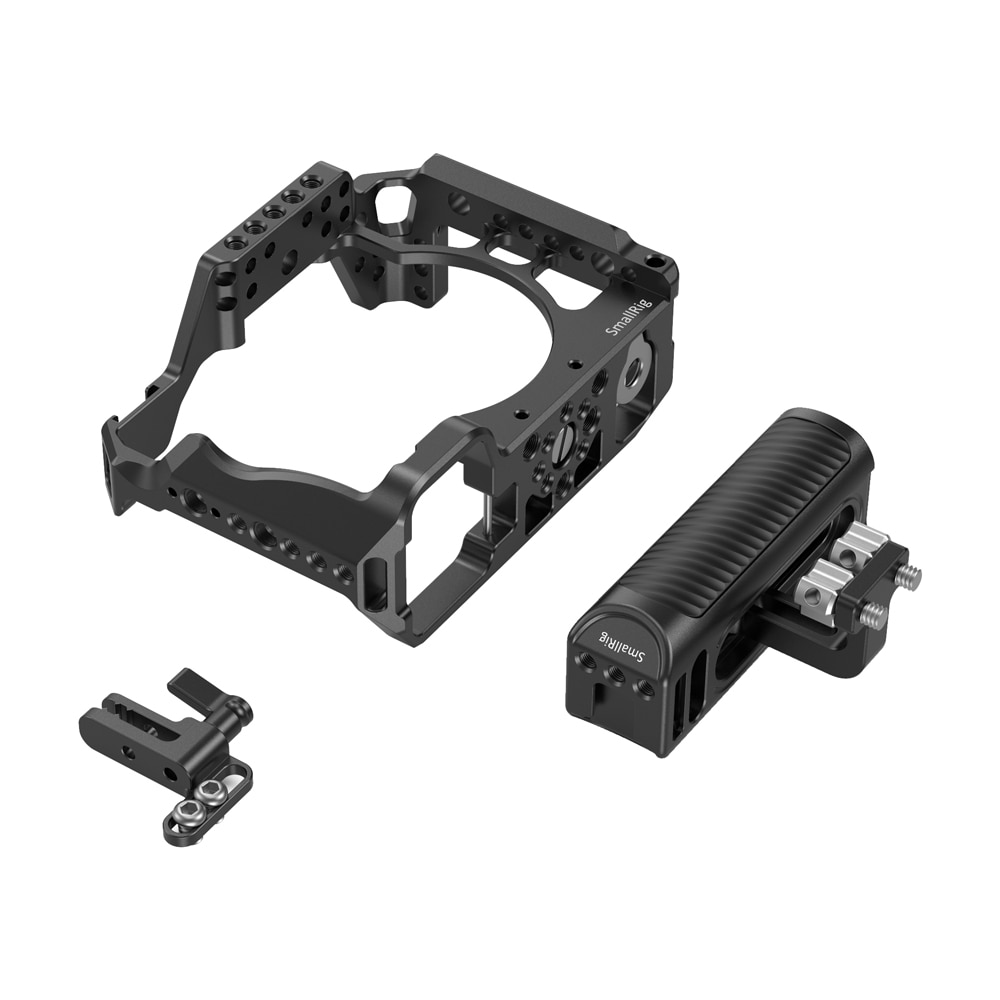 Smallrig full Camera Cage With Aluminum Universal Side Handle HDMI Lock Kit For Sony A7R IV 3137 enlarge
