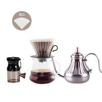 vintage coffee tools hand coffee grinder coffee cup set gift coffee tools easy cleaning coffee accessories coffeeware set da60tc