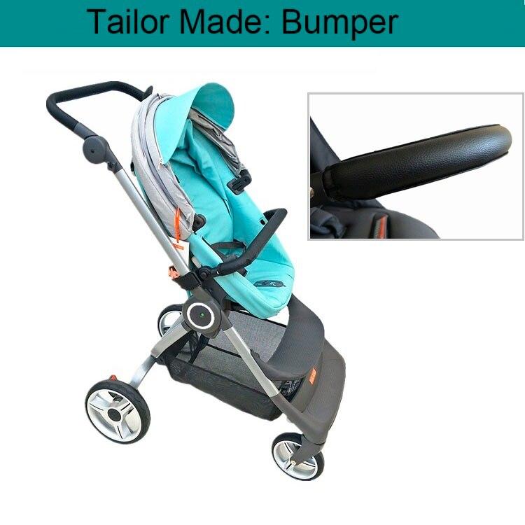 Accessoires de poussette de bébé   Pare-choc avant, siège et extension du pied, filet de Protection anti-moustiques pour Stokke Scoot