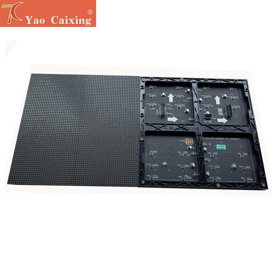 Tamaño más grande P4 interior 256x256mm panel xxx led matriz Módulo de pantalla