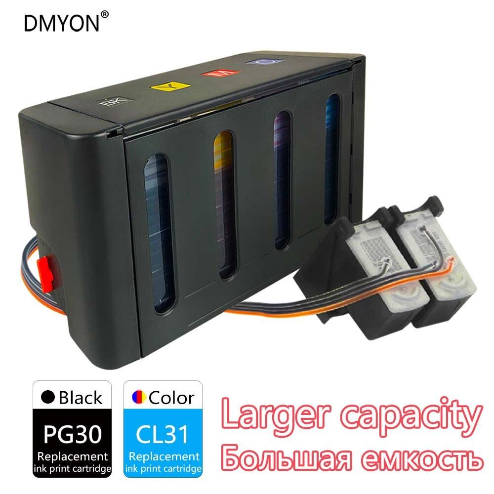 PG30 CL31 XL كيبك السائبة الحبر متوافقة لكانون PG30 CL31 ل PIXMA IP1800 IP2600 MP140 MP210 MP470 MX300 الطابعات